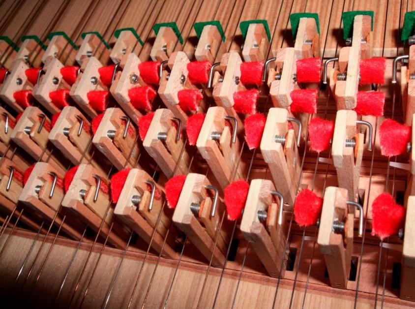 Cembalo-Ersatzteile